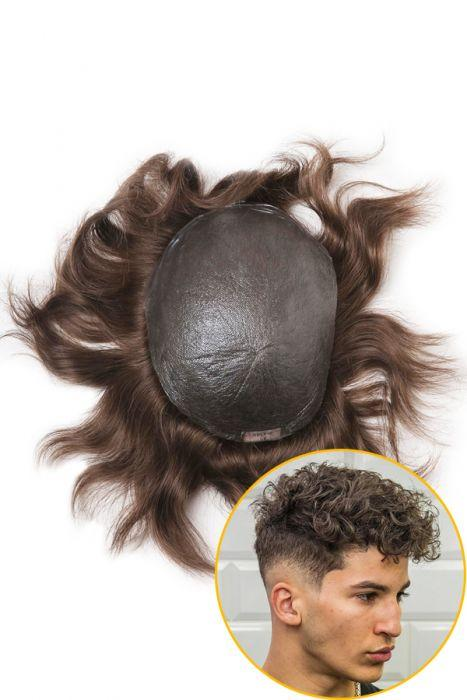 0.06mm Ultra Thin Poly All Over Hair Replacement System