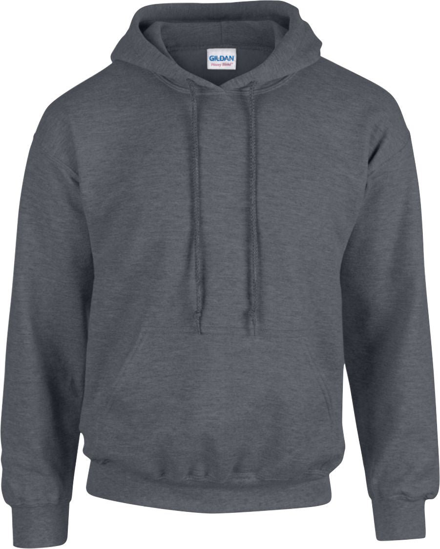 5 x Hoodies with Embroidered LOGO front breast & back (large)