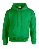 10 x Hoodies with Embroidered LOGO front breast & back (large)