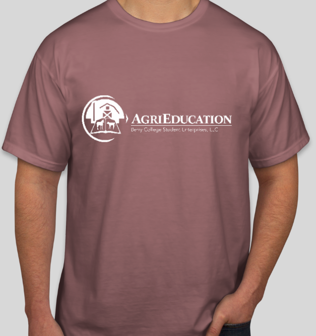 Small Agri Education Tee (preorder) - Berry College Student Enterprises