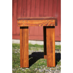 Viking Cypress Side Table - Berry College Student Enterprises