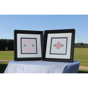 Berry Dogwood Inlay Art Framed - Berry College Student Enterprises