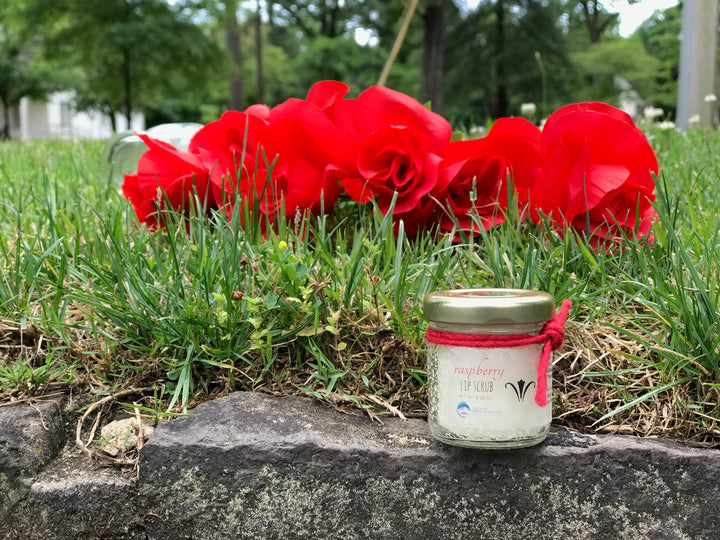 Raspberry Lip Scrub - Berry College Student Enterprises