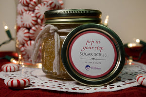 Pep in Your Step Body Scrub - Berry College Student Enterprises