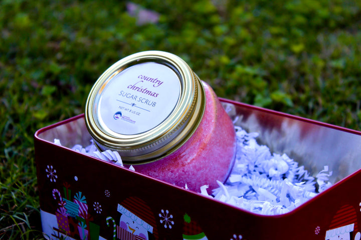 Country Christmas Sugar Scrub - Berry College Student Enterprises