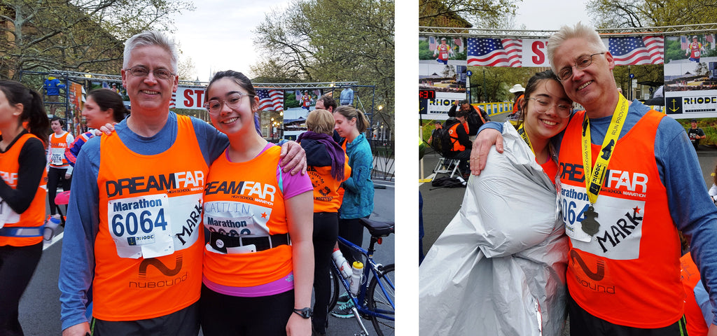 MY DAUGHTER'S FIRST MARATHON: WHY I DREAM FAR