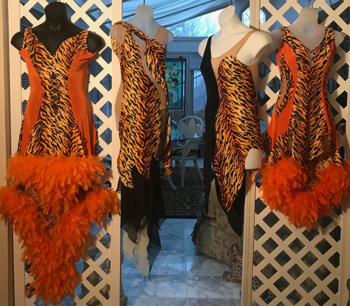 Tigress Latin Dress Collection In Progress