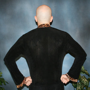 Crystal's Creations back view of men's Latin shirt