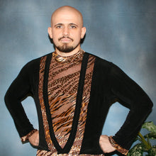 Load image into Gallery viewer, Crystal's Creations men's Latin shirts