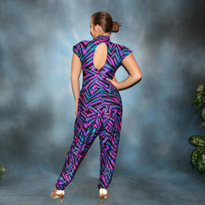 Abstract/Ballroom Bodysuit & Pants Set