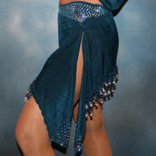 Load image into Gallery viewer, Bianca/Blue Latin Dress