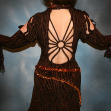 Load image into Gallery viewer, Cecilia/Brown Tango Dress
