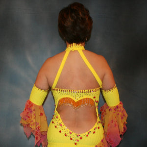 Chachita C/Yellow Latin Dress
