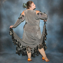 Load image into Gallery viewer, Classy Roses/Plus Size Ballroom Dress