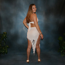 Load image into Gallery viewer, Delia/White Latin Dress