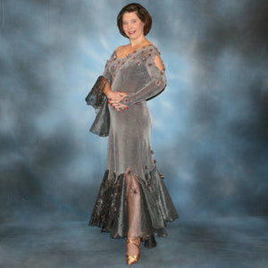 Fantasia/Grey Ballroom Dress