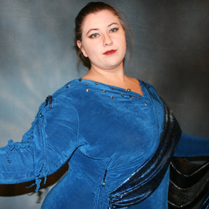 Mira/Plus Size Ballroom Dress