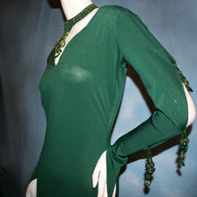 Load image into Gallery viewer, Jade/Green Latin Dress