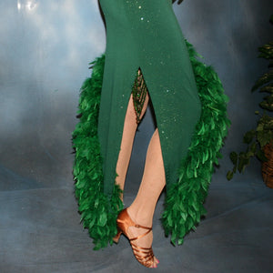 Jade/Green Latin Dress