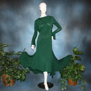 Jasmin/Green Social Ballroom Dress