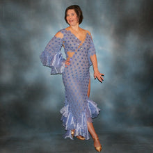 Load image into Gallery viewer, Lavender Fantasy/Lavender Latin Dress