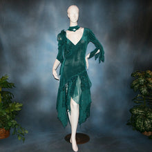 Load image into Gallery viewer, Marci/Teal Social Ballroom Dress