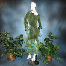 Load image into Gallery viewer, Olivia/Green Social Ballroom Dress