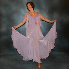 Load image into Gallery viewer, Orchid Mist/Orchid Ballroom Dress