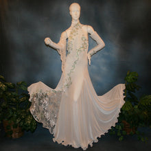 Load image into Gallery viewer, Crystal's Creations white ballroom dress