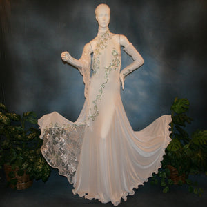 Crystal's Creations white ballroom dress