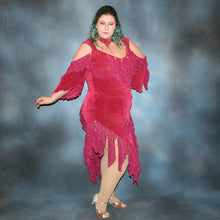 Load image into Gallery viewer, Rosy/Plus Size Latin Dress