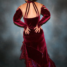 Load image into Gallery viewer, Seduction/Burgundy Tango Dress