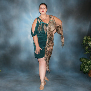 Serengeti/Plus Size Latin Dress