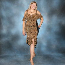 Load image into Gallery viewer, Serengeti print Latin dress