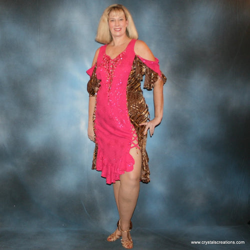 Serengeti Fun/Plus Size Latin Dress