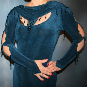 Slinky Blues/Blue Social Latin dress
