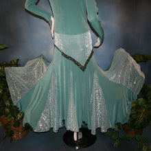 Load image into Gallery viewer, Slinky Fantasy/Aqua Social Ballroom dress