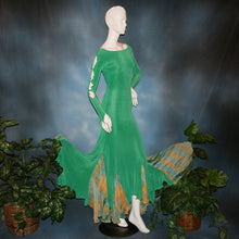 Load image into Gallery viewer, Slinky Dream/Green Social Ballroom Dress