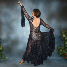 Load image into Gallery viewer, Sophia/Navy Blue Tango Dress