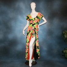 Load image into Gallery viewer, Tropical/Bodysuit & Ballroom Skirt