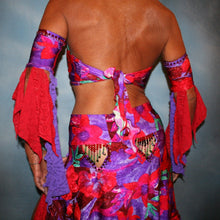 Load image into Gallery viewer, Tropical Sunset/2 Piece Latin Dress