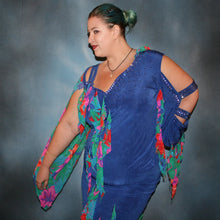 Load image into Gallery viewer, Tropical Fun/Plus Size Latin Dress