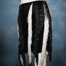 Load image into Gallery viewer, Fringy Sequins/Latin Skirt