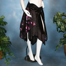 Load image into Gallery viewer, Crystal's Creations black Latin skirt