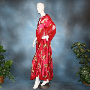 Wild Fire/Ballroom Skirt & Shawl