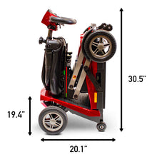 Load image into Gallery viewer, EWheels REMO Auto-Flex Automatic Folding Scooter with Wireless Remote