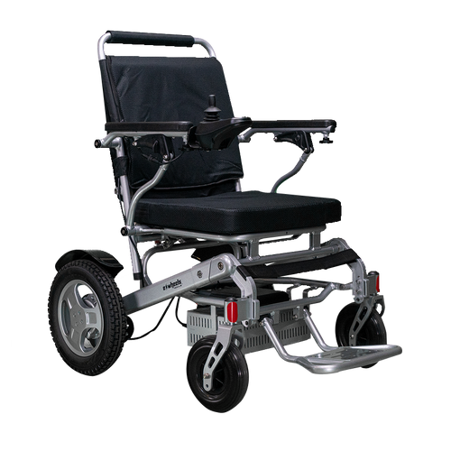 EWheels EW-M45 Folding Lightweight Power Wheelchair