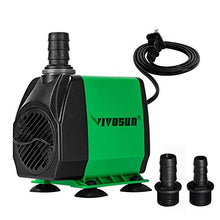 Load image into Gallery viewer, VIVOSUN 800GPH Submersible Pump (3000L/H, 24W)
