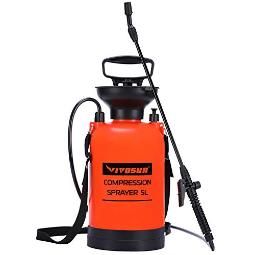 VIVOSUN 1.3 Gallon Pump Pressure Sprayer