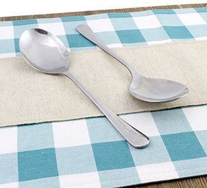 Stainless Steel X-Large Serving Spoons (2-Pack)